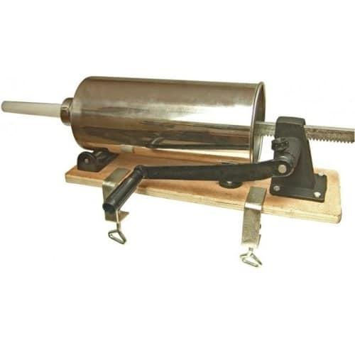 Aparat manual de umplut carnati cu 3 accesorii Hurka, 4 kg-0