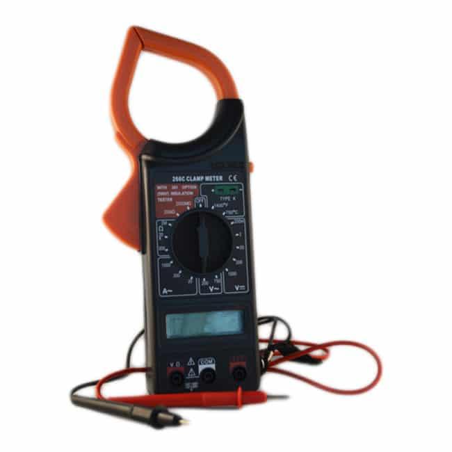 Cleste ampermetric digital DT266 C, baterie 9 V-0