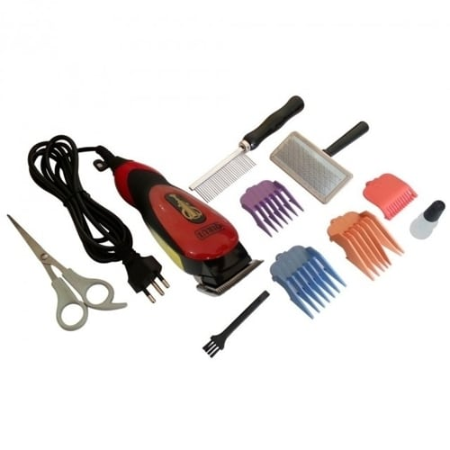 Aparat de tuns animale Qirui QR-PET2505, 12 W, accesorii-26