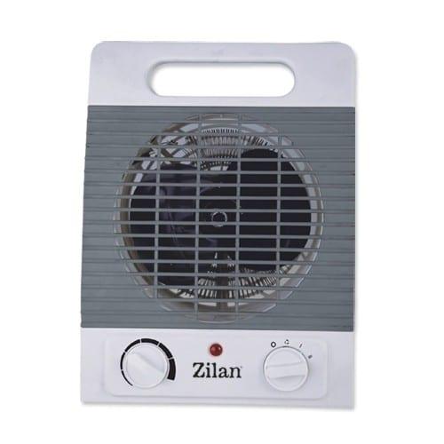 Aeroterma Zilan ZLN8373, 2000W, termostat, 2 trepte putere-0