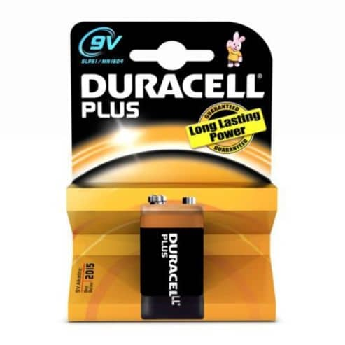 Baterie alcalina Duracell 9V-0