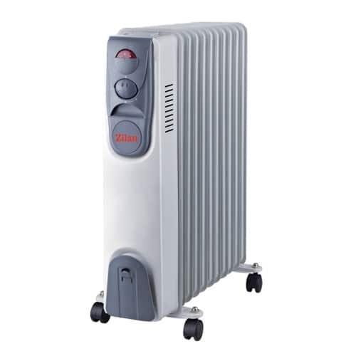 Calorifer Zilan ZLN-2128, 2500W, 11 elementi, termostat-0