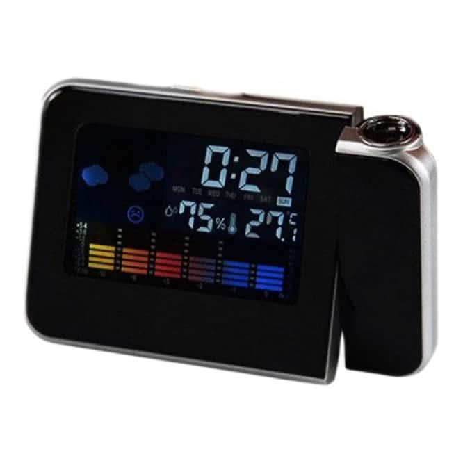 Ceas digital cu proiectie DS-8190, alarma-0