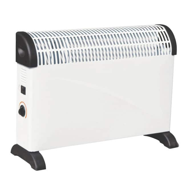 Convector electric Hausberg HB-8200, 2000 W, 3 trepte incalzire-0