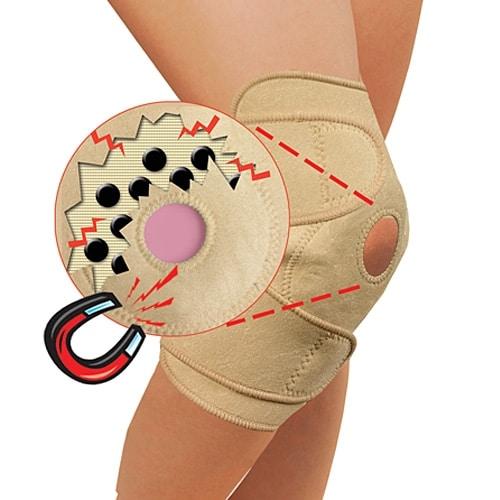 Fasa cu magneti pentru sustinerea genunchiului Sibote 2082-0