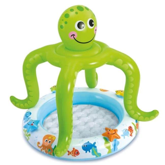 Piscina gonflabila Intex Octopus Baby 57115NP pentru copii 102x104cm-0