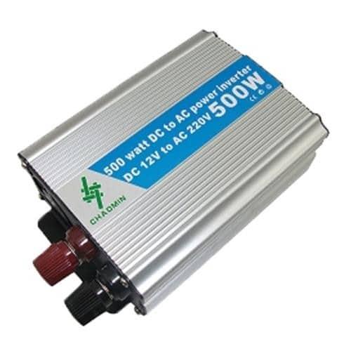 Invertor auto 500W Chaomin, 12V, clestisori, sinusoida modificata-0