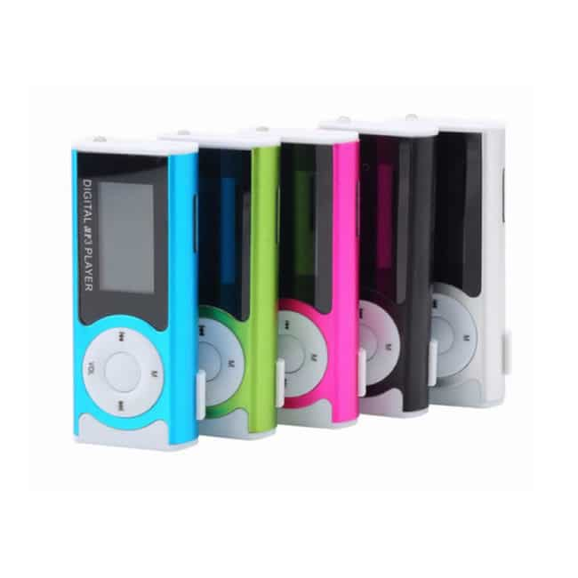 Mini MP3 Player cu radio, display LCD, lanterna-599