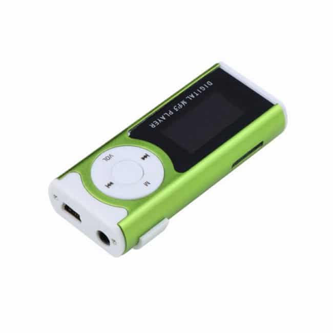 Mini MP3 Player cu radio, display LCD, lanterna-600