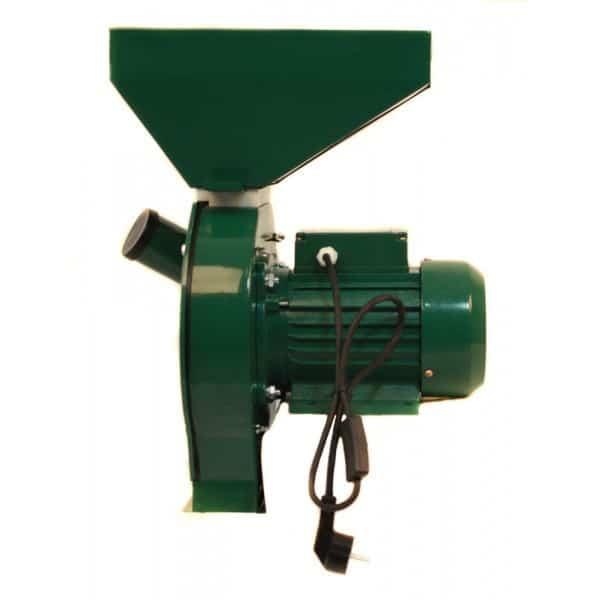 Moara electrica cu ciocanele verde, 2.5 kW, 3000 RPM-1216