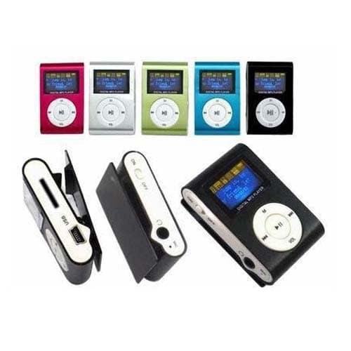 Mini MP3 Player cu display LCD, slot microSD-594