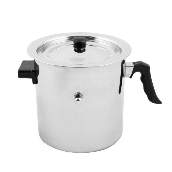 Oala lapte Grunberg GR-1517, 2.5 litri, capac, pereti dubli-0