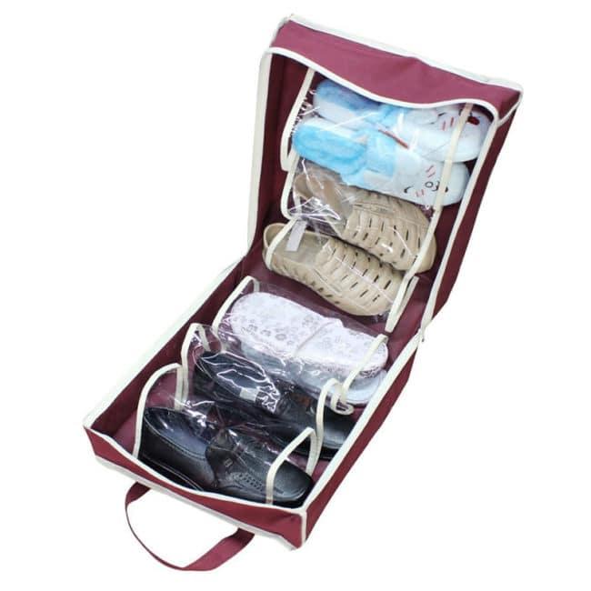 Organizator pantofi Shoe Tote Bag, 6 perechi-494