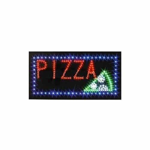 Panou cu leduri 25 x 50 cm - Pizza-0