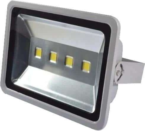 Proiector cu LED 200W, carcasa metalica, gri