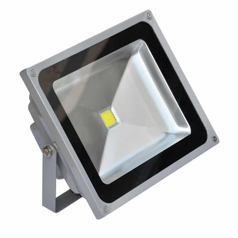 Proiector cu LED, 20 W, ECO LED, Gri