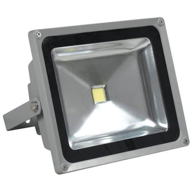 Proiector cu LED, 30 W, ECO LED, Gri-0