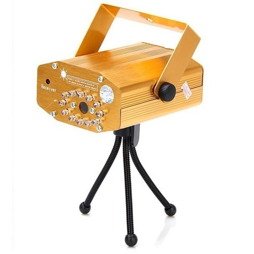 Proiector laser cu trepied si telecomanda, 2 diode-0