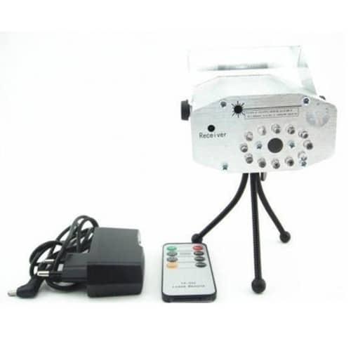 Proiector laser cu trepied si telecomanda, 2 diode-1308