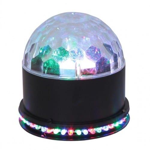 Proiector lumini disco Led Sun Magic Ball, 51 led, RGB
