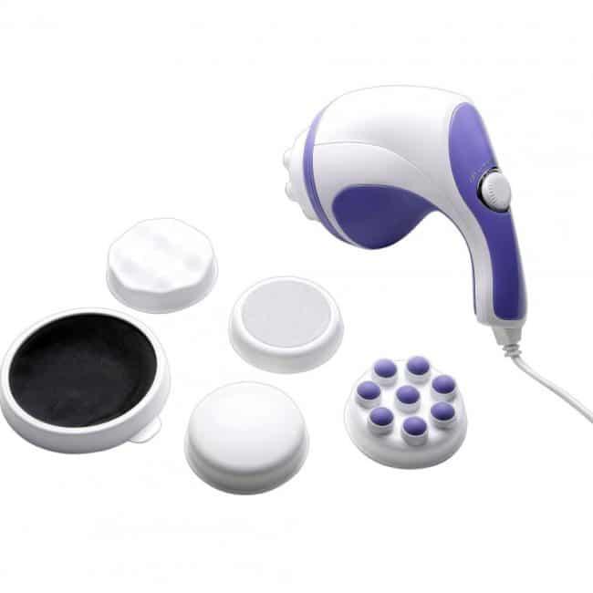 Aparat masaj anticelulitic Spin, 5 accesorii-0
