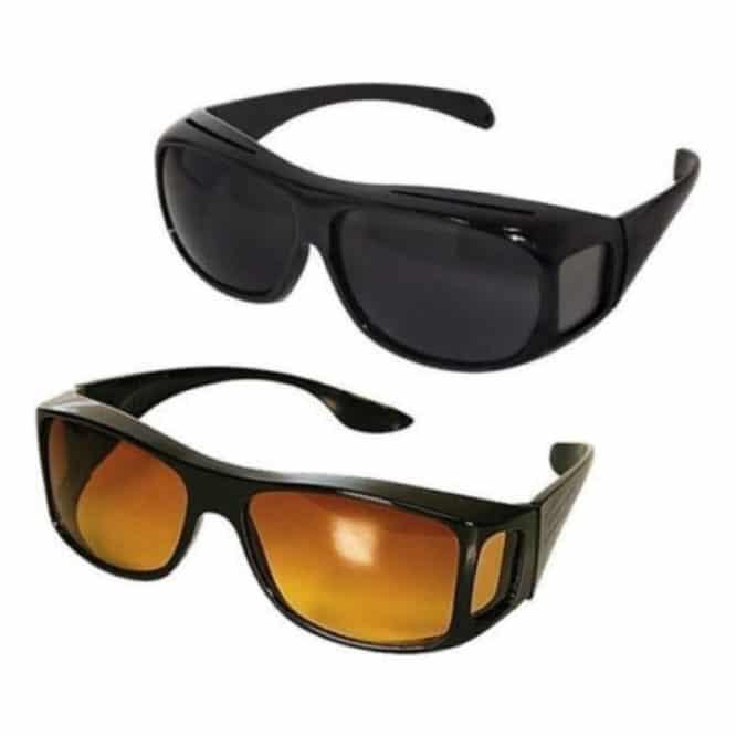 Set 2 perechi ochelari zi si noapte HD Vision-0