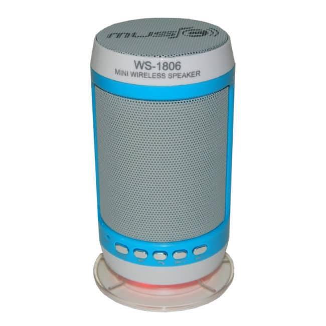 Boxa portabila bluetooth Wster WS-1806B, radio FM-0
