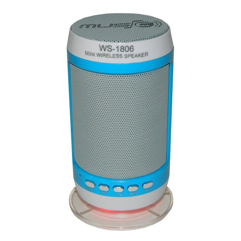 Boxa portabila bluetooth Wster WS-1806B, radio FM