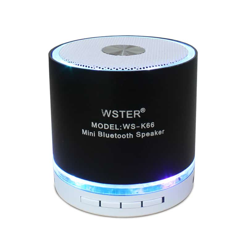 Mini boxa Wster WS-K66, 3 W, bluetooth, LED