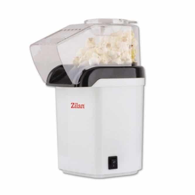 Aparat pentru floricele Zilan ZLN-8044, 1200 W, alb-0