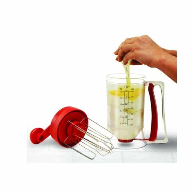 Blender manual de preparat clatite si prajituri Pancake Machine-2010