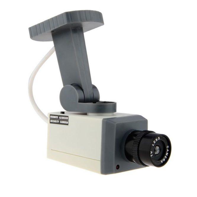 Camera de supraveghere falsa cu senzor de miscare si LED-1721
