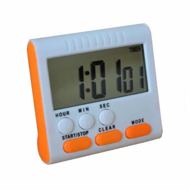 Timer digital pentru bucatarie HX102, suport magnetic-0