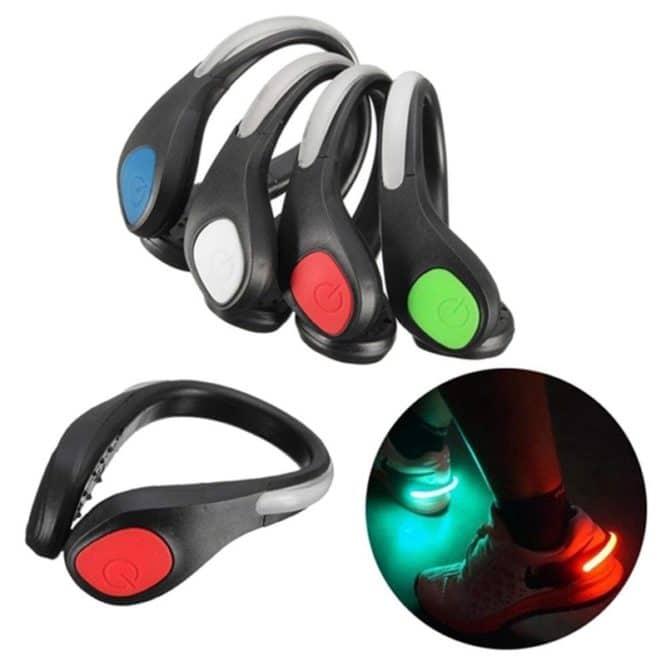 Clips cu led cu fixare pe pantofi 4in1 LED Shoe Clip Light-0