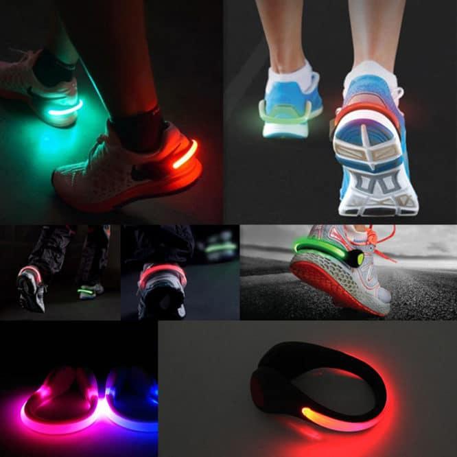 Clips cu led cu fixare pe pantofi 4in1 LED Shoe Clip Light-2168