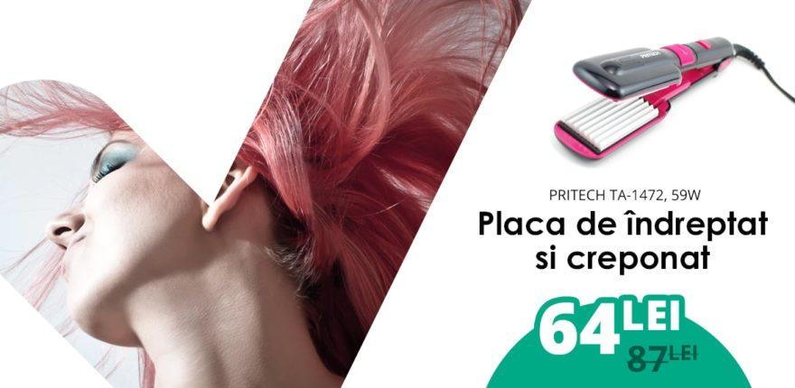 PretConvenabil Banner magazin online placa de indreptat parul