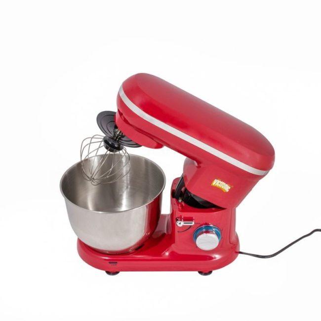 mixer cu bol inox rosu vc259wb